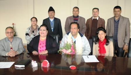 Appointment of Prof. Buddha Basnet as Chair of Service Commission