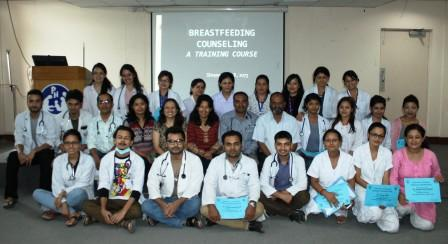 Breast Feeding Counselling Training - 2016