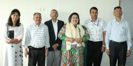Farewell to VC Prof. Sangita Bhandary