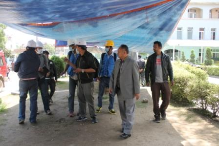 Task force for risk assessment of physical constructional damage caused by the earthquake disaster