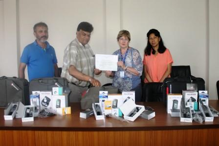 Medical Equipment Donation for District Hospital Posting