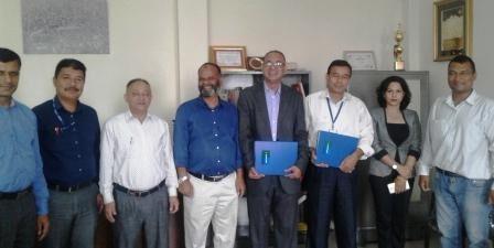 MOU signed between PAHS-Patan Hospital and Sanima Bank