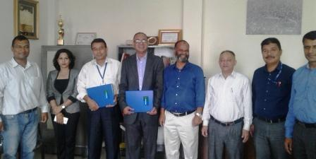 MOU signed between PAHS-Patan Hospital and Sanima Bank