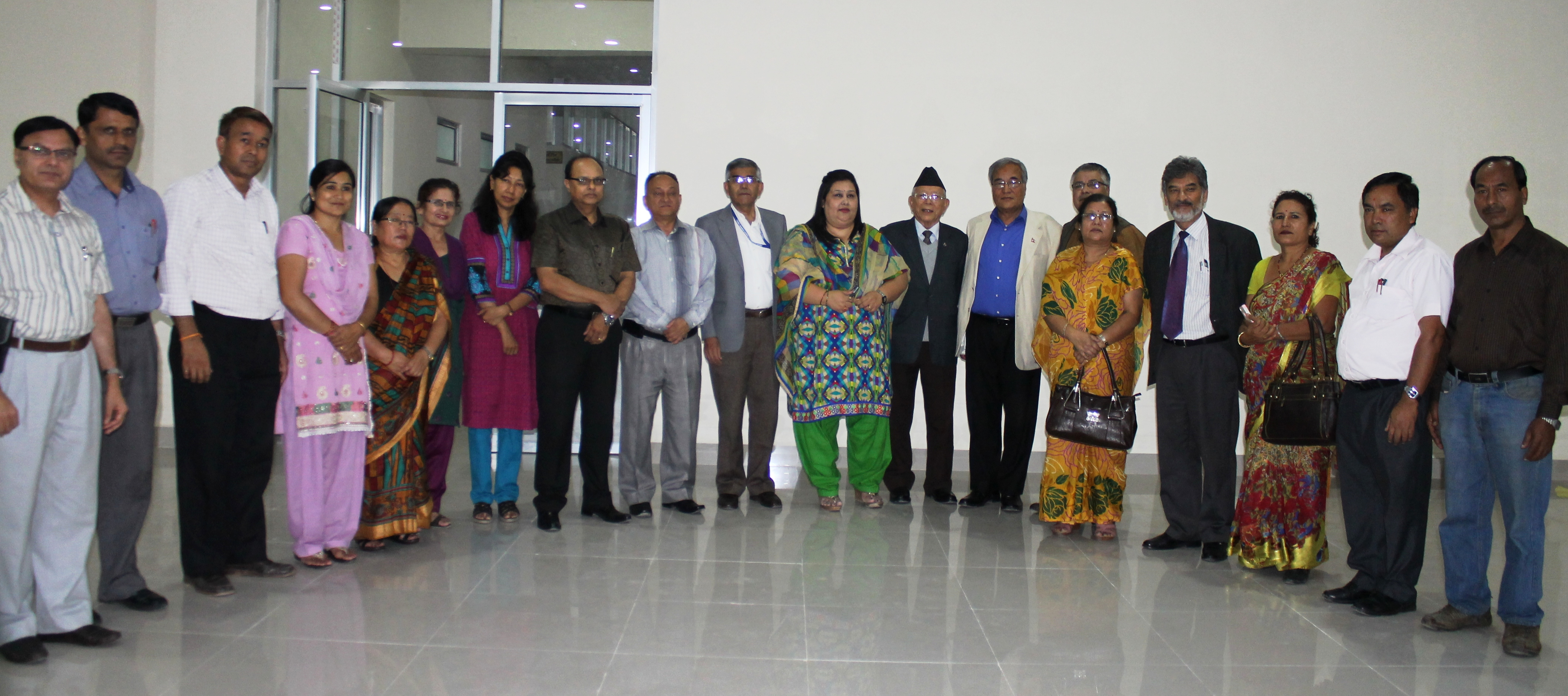 Group Photo after the MoU