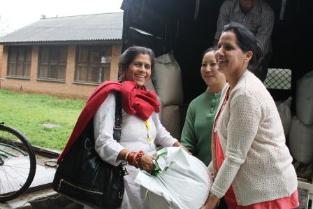 Donation of food supplies from generous people to provide free nutritious and fresh food for victims and one caretaker of each